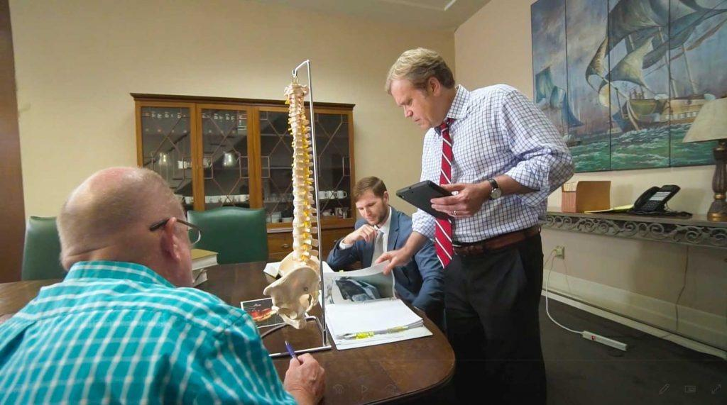 Spinal Injuries Lawyer in New Orleans