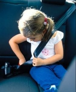 seat belt gag law in Louisiana